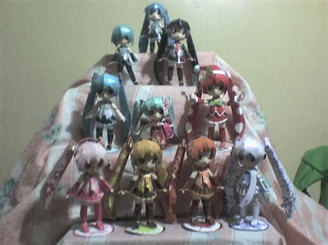 Papercraft Collection - miku papercraft collection by daigospencer on deviantart