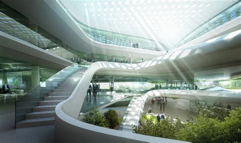 Chicagos Eco Shopping Mall Hippyshopper by Green Climate Fund Headquarters Lava Archdaily
