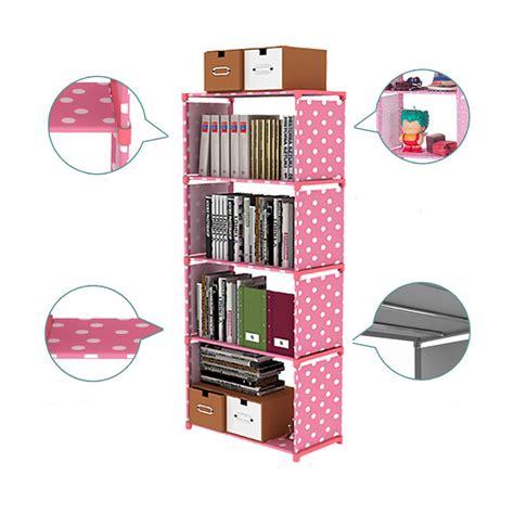 Rak Susun 4 Tingkat Serbaguna jual home klik rak buku portable serbaguna 4 susun