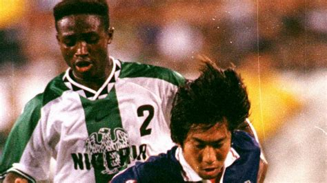 celestine babayaro goal atlanta 96 when nigeria ruled the world goal