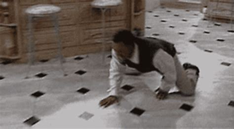 carlton sliding across floor gif the 25 stages of being a in gifs we feast