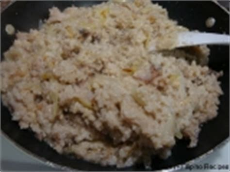 buro recipe ginisang burong isda sauteed fermented rice with