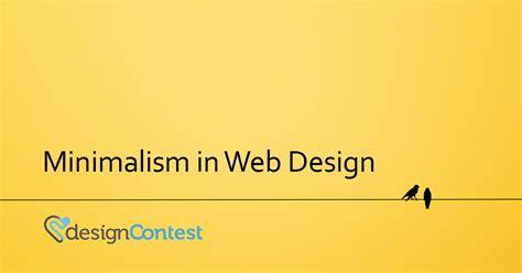 minimalistic web design how to keep minimalsit web design exciting designcontest