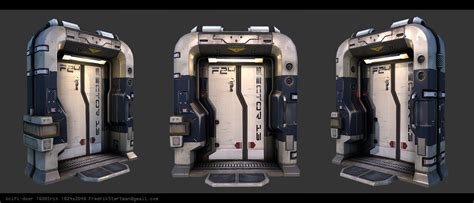 Sci Fi Door by Door Scifi Scifi Environment