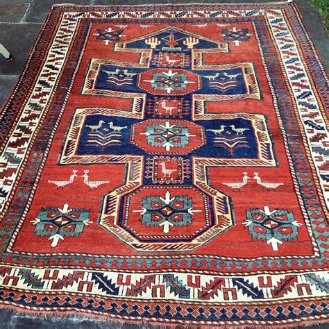 keshishian rugs antique kazak shield prayer rug pile 6 1 quot x 7 8 quot collectible this type of rug