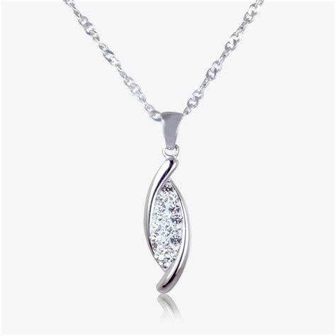 lydia sterling silver necklace
