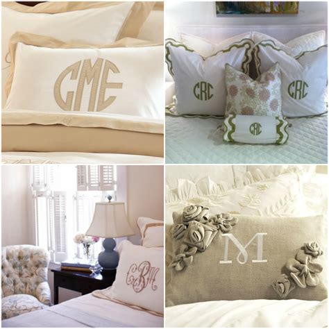 monogrammed comforters the southern thing monogrammed bedding obsession