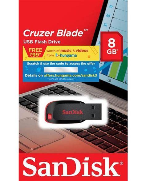 Brani Murah Sandisk Cruzer Blade 32gb Original 1 buy sandisk cruzer blade 8gb pen drive at lowest price in india vplak