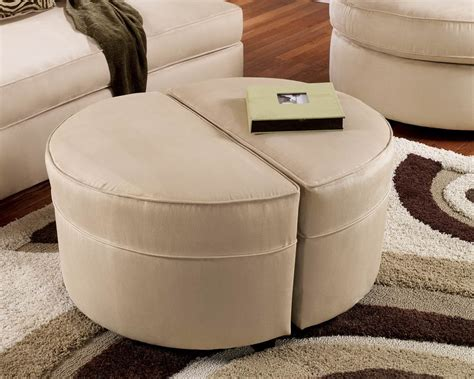 colorful ottoman coffee table round ottoman coffee table in color modern home