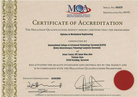 Certificate Of Studentship Global Engineer diploma in mechanical engineering i cats