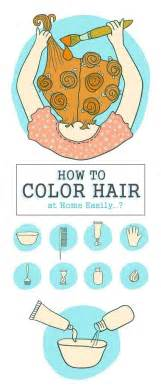 how to color hair at home how to color hair at home easily styles at