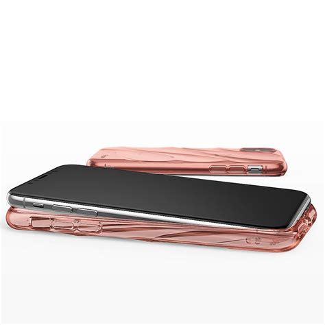 Ready Ultra Thin Tpu Iphone X 10 By Cafele Free Tempered Glass ringke flow gel cover for iphone x pink pink hurtel