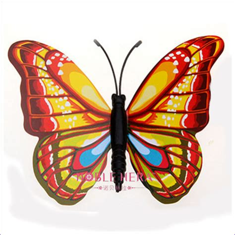 Butterfly Kitchen Decor by Pvc Coloful 3d Butterfly Kitchen Decor Buy Butterfly