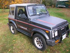 Suzuki Soft Top For Sale 1987 Suzuki Samurai Special Edition 4x4 Soft Top Low