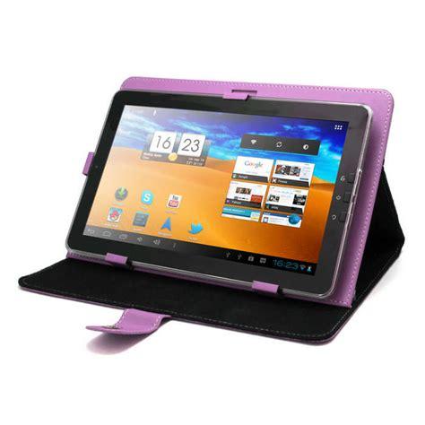 fundas para tableta funda universal morada para tablet pc 10 quot con soporte