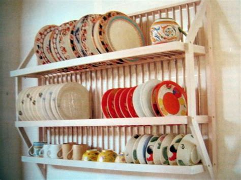 Wall Hang Dish Rack 126 best open shelves and plate racks images on