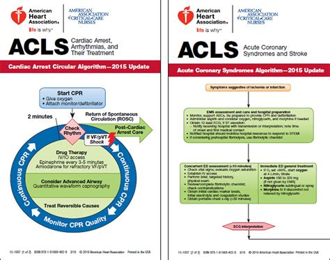 acls provider manual study guide for acls with ekg interpretations books aha acls pocket reference card set 2 pack 2015 aphe store