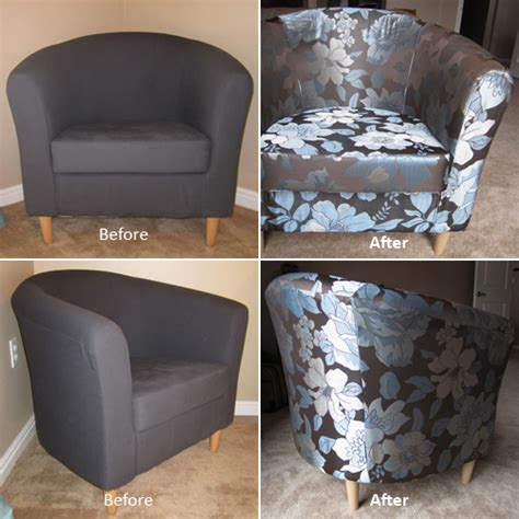 upholstery before and after crafts how to reupholster a chair