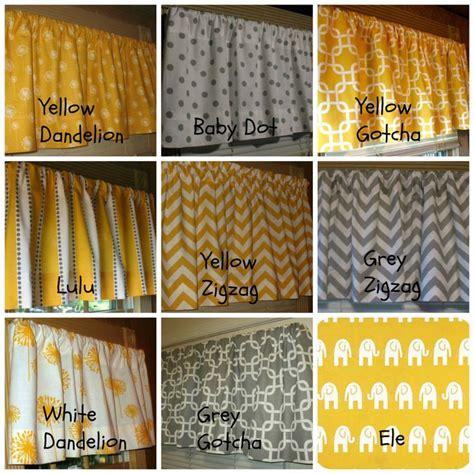 Yellow And Gray Window Valance Window Curtain Valance Premier Prints Corn Yellow And Grey
