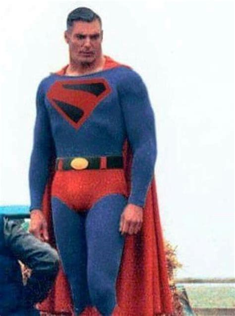 christopher reeve en man of steel kingdom come costume christopher reeve s face man of