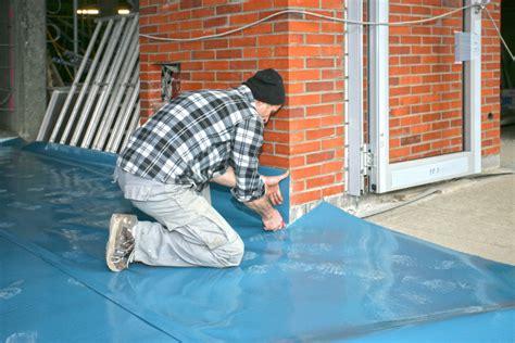 Folie Bodenplatte Kaufen by Kunststoff Statt Bitumen Abdichtung Mit Folien Aus