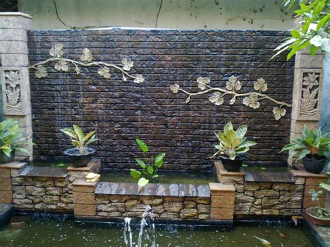 Cheap Wall Tiles by Spectacular Garden Water Wall Ideas Garden Lovers Club