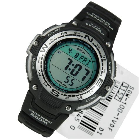 Casio Thermometer sgw 100 1vdf casio digital