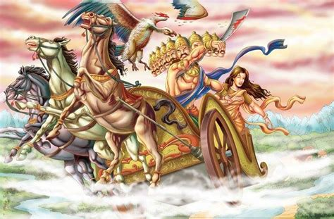 My Ramayana ramayana story jatayu sacrifice in fight with ravana