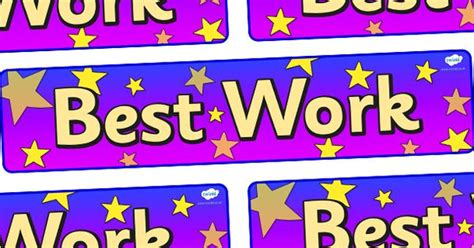 printable display banner twinkl resources gt gt best work display banner gt gt thousands