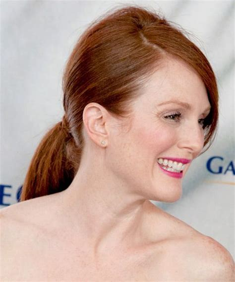 julianne moores hair color formula julianne moore hair color formula julianne moore updo