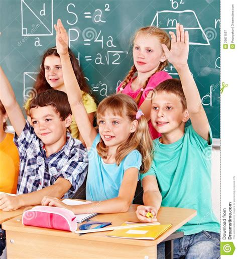 Royalty Free School Children Stock by School Child Sitting In Classroom Royalty Free Stock