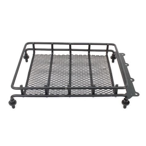 Roof Rack Metal D90 Rc 1 10 metal roof luggage rack for 1 10 rc car crawler truck shell cover hsp axial scx10 tamiya