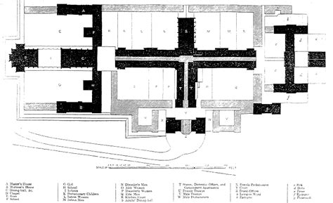 birmingham floor plan the workhouse in birmingham warwickshire