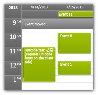 Calendar Duration Duration Bar Event Calendar Daypilot Documentation
