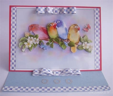 3d Decoupage Tutorial - cards crafts projects easy paper bow tutorial and