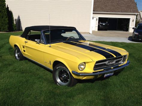 ohio state mustang 1967 convertible mustang for sale in perrysburg ohio