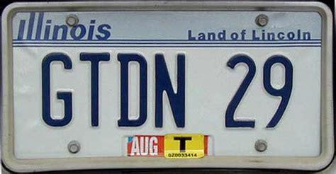 Vanity Plates Il Illinois Y2k
