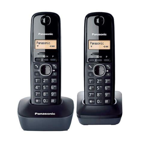 Panasonic Wireless Phone Kx Tg1611 Black panasonic kx tg1612fxh price 43 72 eur cordless phones phones communications bittel