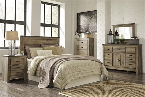 signature design  ashley furniture trinell queen bedroom group sams appliance furniture