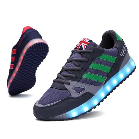 sneakers with lights 2015 glowing sneakers with lights up led luminous shoes a