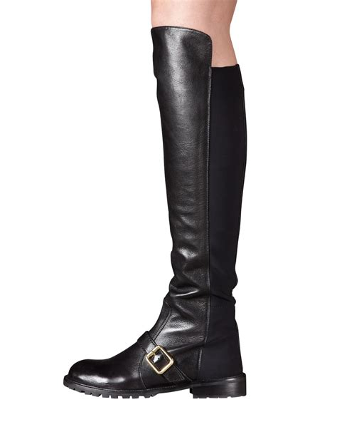 Chic The Knee Marc By Marc Boot by Marc By Marc The Knee Boot In Black Lyst