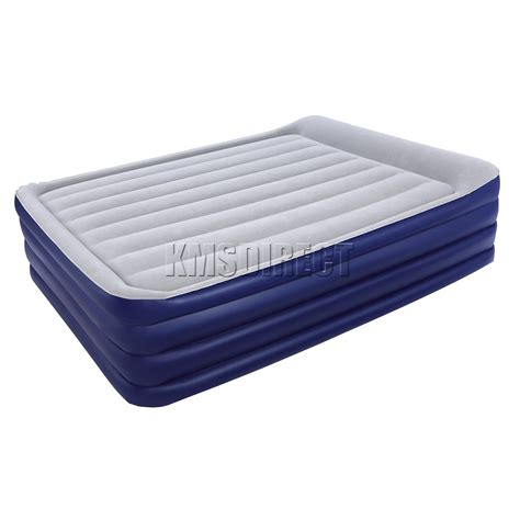 raised air bed bestway queen size inflatable night right raised air bed