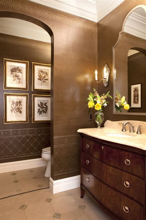 brown bathroom ideas 25 marvelous traditional bathroom designs for your inspiration