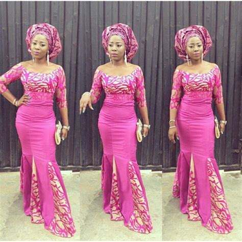 asoebi styles top ten unique and stylish aso ebi cord lace styles dabonke