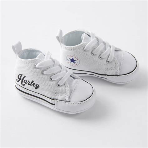 Jual Converse Baby Original baby converse sneakers personalised by nappy notonthehighstreet