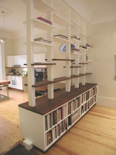 Shelf Wall Divider by 25 Best Ideas About Room Divider Shelves On Room Divider Bookcase Dividers For