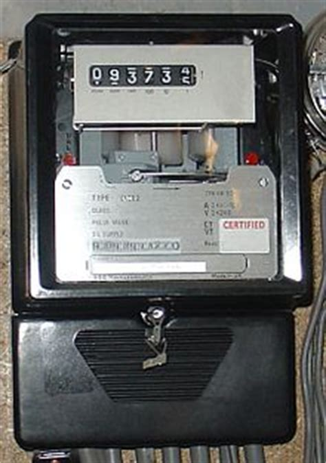 three phase induction type energy meter electricity meter