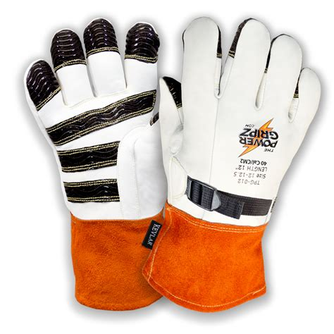 heat resistant protector made to measure cut resistant high voltage leather protector gloves the