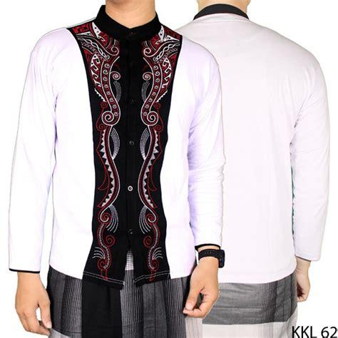 Baju Muslim Di Shopee baju koko lengan panjang shopee indonesia