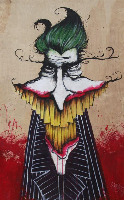 acrylic joker painting joker painting by seandietrich on deviantart